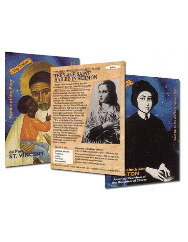Holy Traders Set No. 1 Saint Trading Cards
