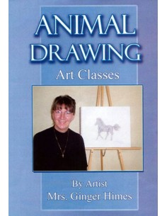 Animal Drawing Art Classes DVD