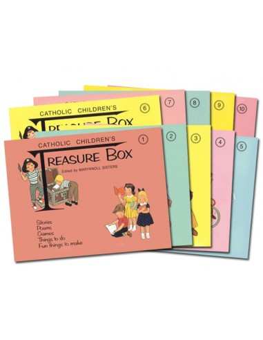 Catholic Children's Treasure Box (1-10) Set 1