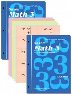 Saxon Math 3 Student Workbook