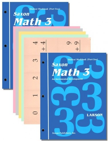 Saxon Math 3 Student Workbook