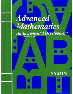 Saxon Advanced Math (2nd edition) Text