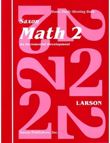 Saxon Math 2 Meeting Book