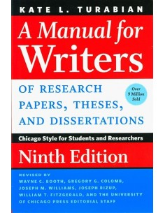 A Manual for Writers 9th Edition