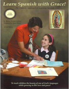 Learn Spanish with Grace (Grades 2-8)