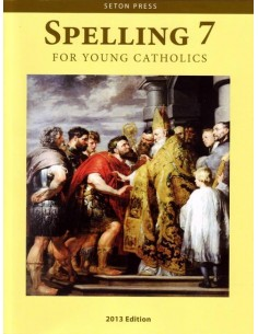 Spelling 7 for Young Catholics  (key in book)