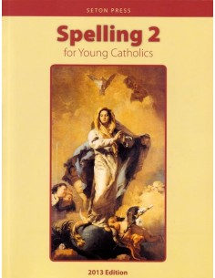 Spelling 2 for Young Catholics (key in book)