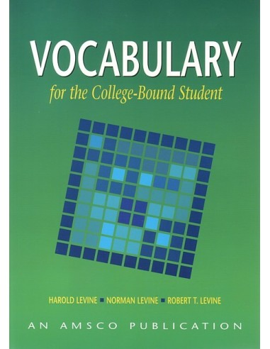 Vocabulary for the College Bound Student (4th edition) Wkbk