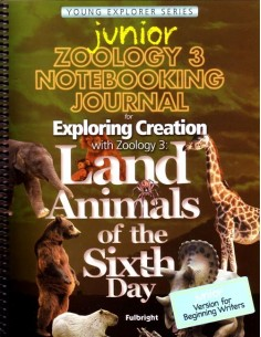Zoology 3 Junior Notebooking Journal