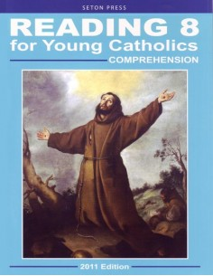 Reading 8 for Young Catholics Comprehension (key in book)