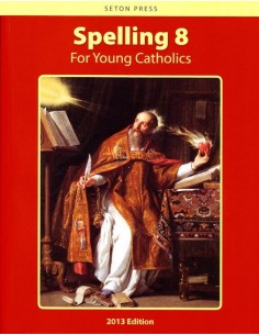 Spelling 8 for Young Catholics  (key in book)