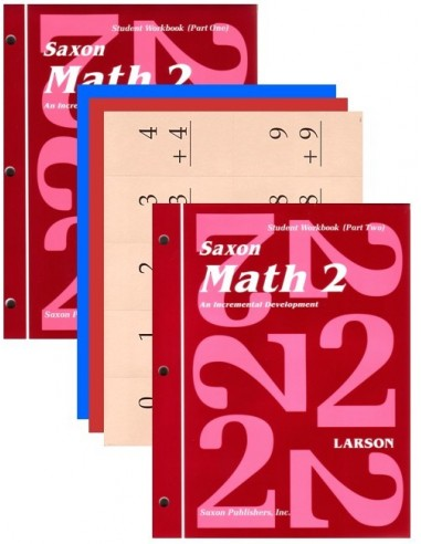 Saxon Math 2 Student Workbook