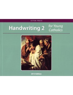 Handwriting 2 for Young Catholics