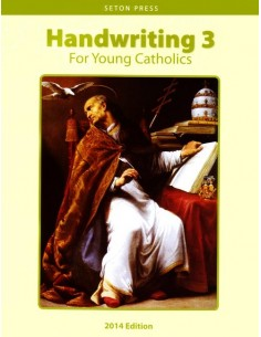 Handwriting 3 for Young Catholics