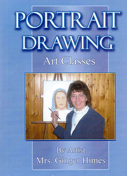 Portrait Drawing Art Classes DVD