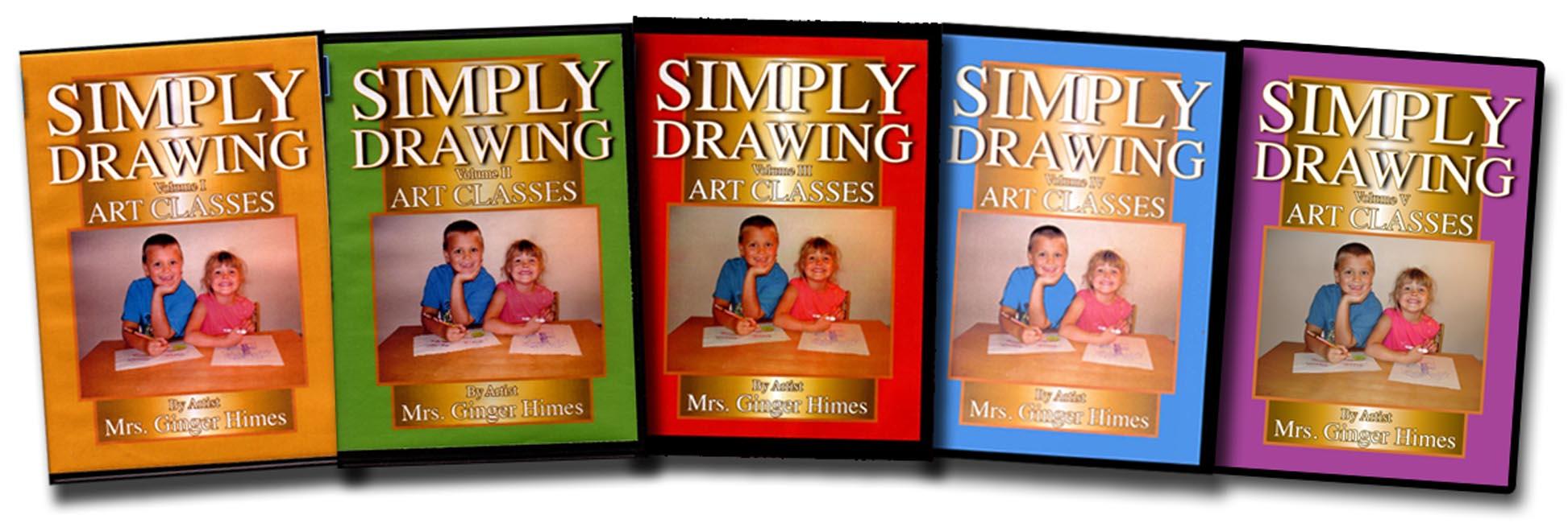 Simply Drawing Vol. 1-5 Set