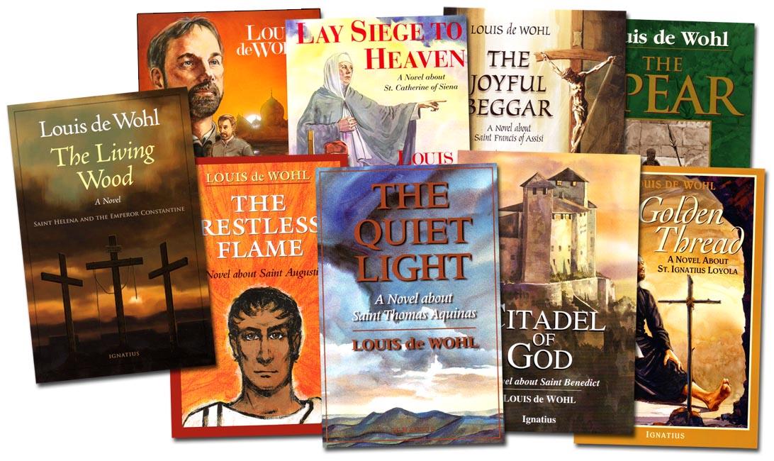 Louis de Wohl Set of 9 Books