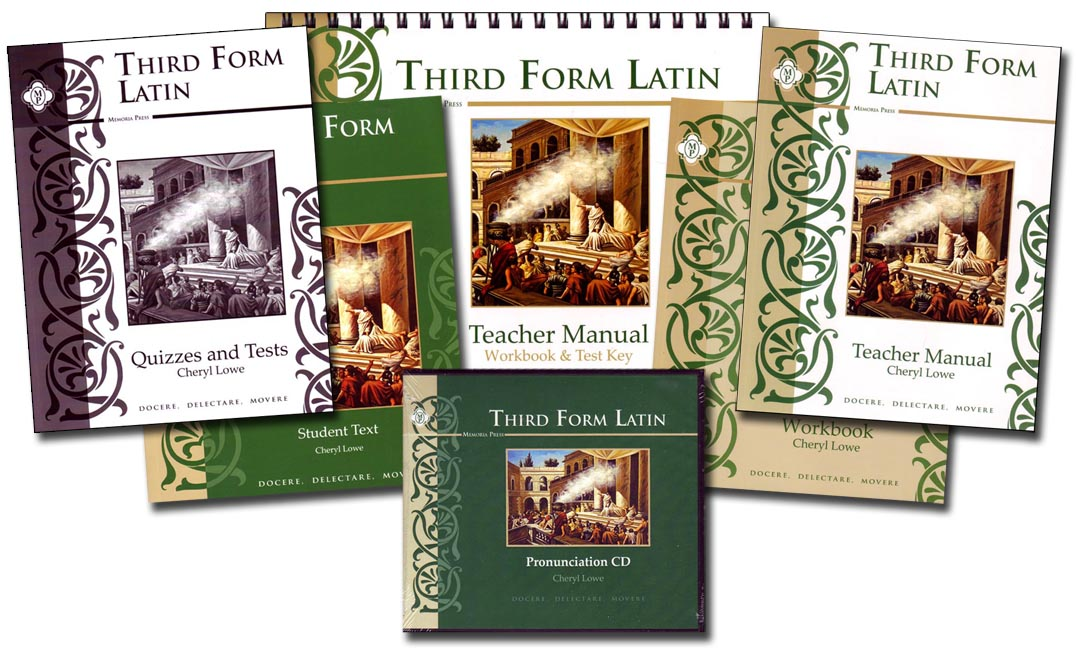 Third Form Latin Basic Set