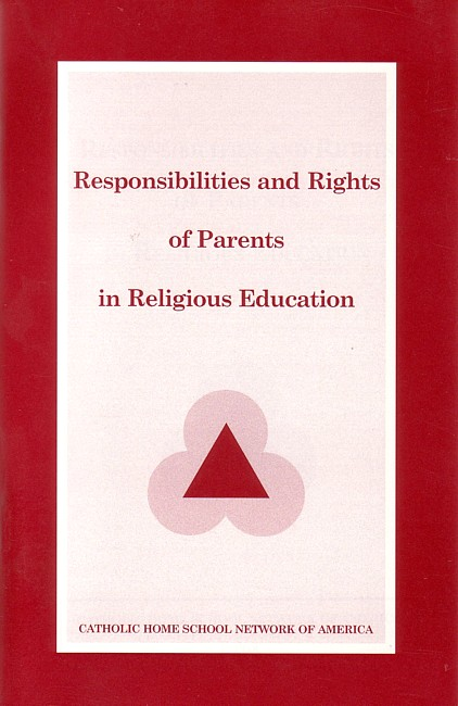 Responsibilities & Rights of Parents in Religious Education