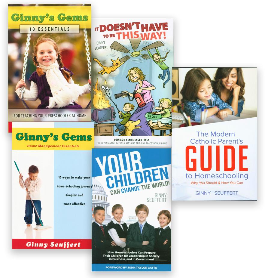 Ginnys Gems: 10 Essentials for Teaching Your Preschooler at Home