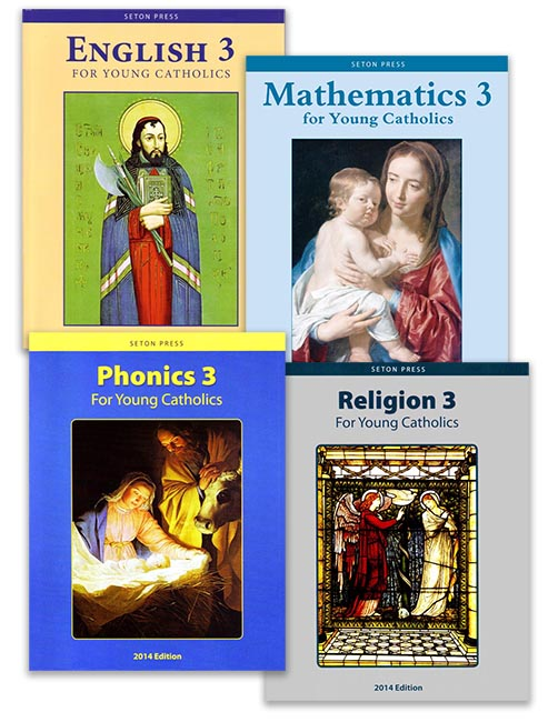 Grade 3 Stay-on-Track Pack with Religion
