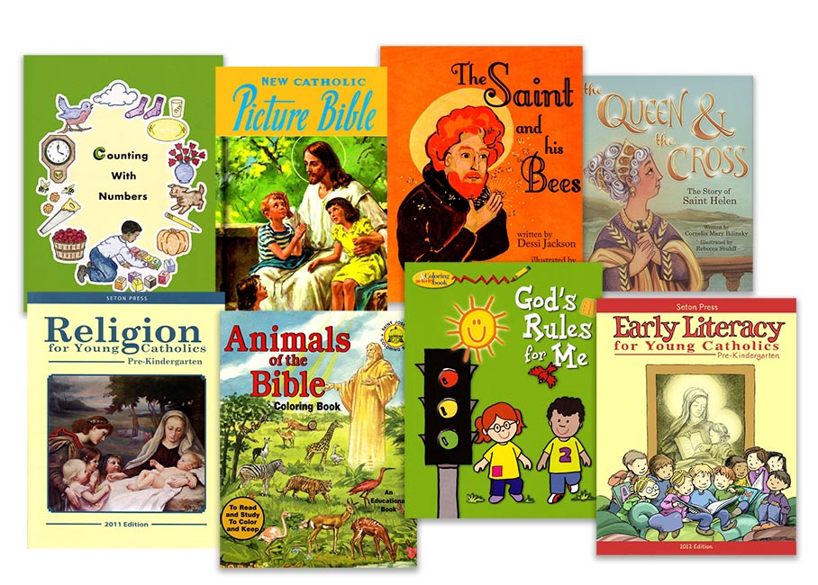 Pre-K Stay-on-Track Pack with Religion