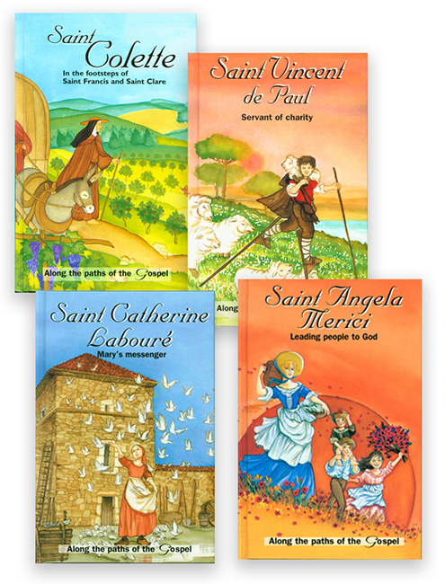 Along the Paths of the Gospel 4 Book Set