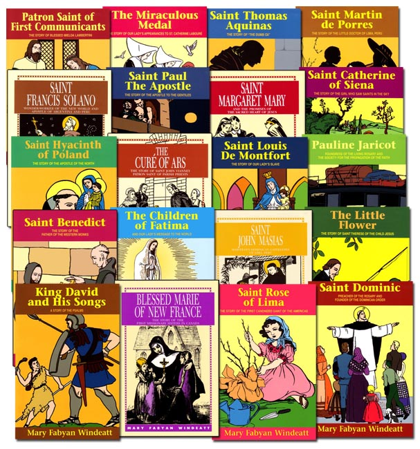 Mary Fabyan Windeatt 20 Book Set (Saint Biographies)