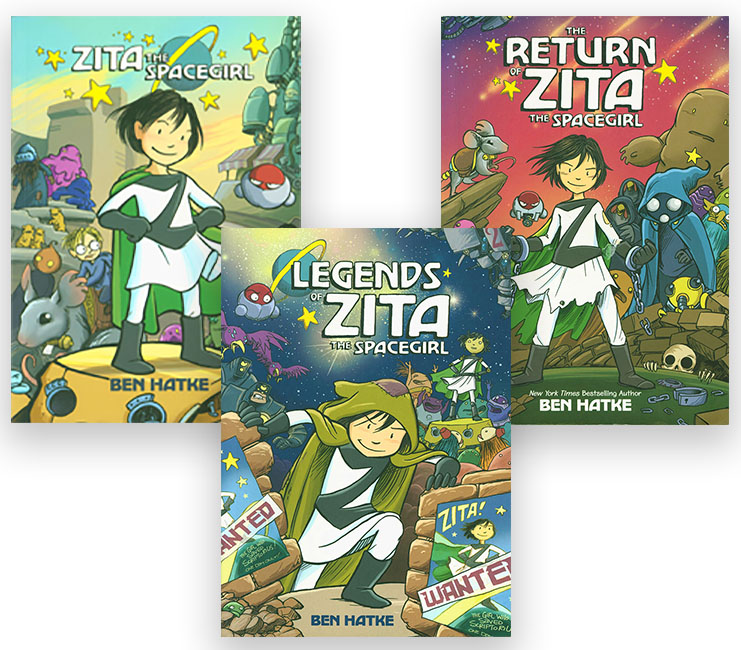Zita the Spacegirl Three Book Set