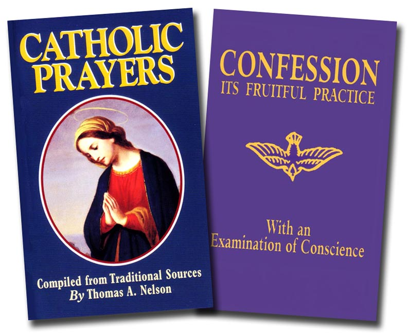 Catholic Prayers and Confession Set