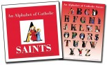 An Alphabet of Catholic Saints (Book and Poster Set)