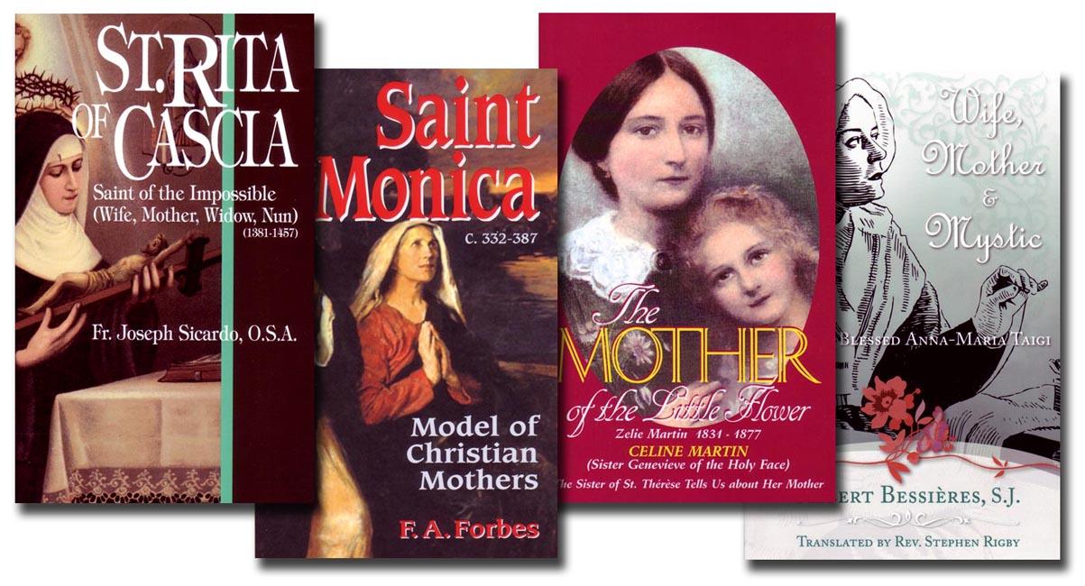 Saints for Moms - Four Book Set
