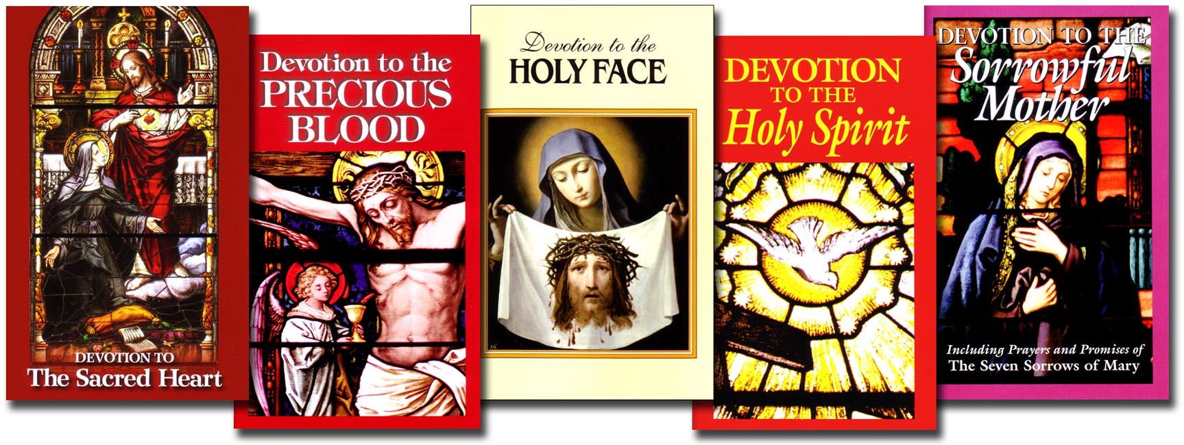 Set of 5 Devotional booklets