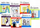 Catholic Kids Activity Books (Set of 7)