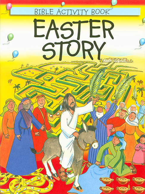 Easter Story: Bible Activity Book