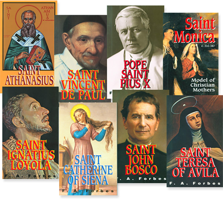 Mother Francis A. Forbes Saint Biography Set