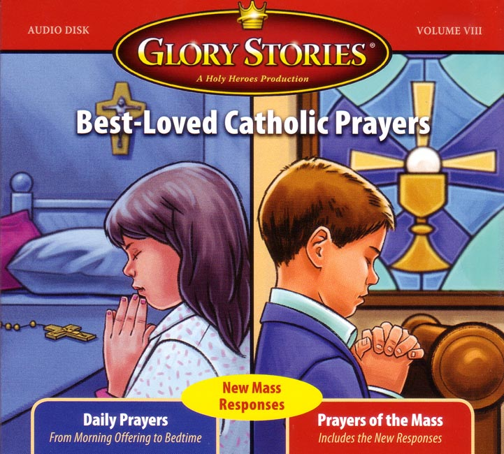 Glory Stories: Best-Loved Catholic Prayers CD