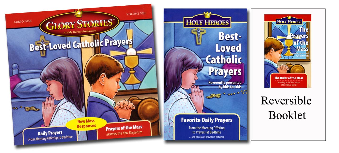 Best-Loved Catholic Prayers CD & Companion booklet