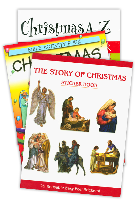 Christmas Activity Book Set