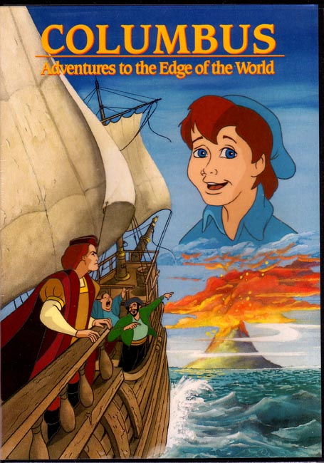 Columbus, Adventures to the Edge of the World DVD