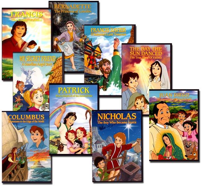 Set of 9 CCC DVDs