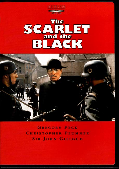 The Scarlet and the Black DVD