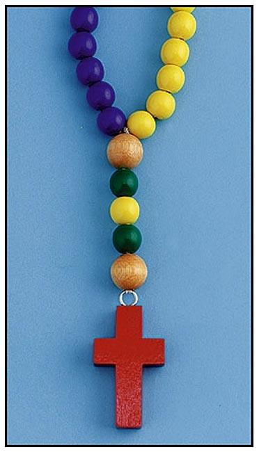 Children's Wooden Rosary