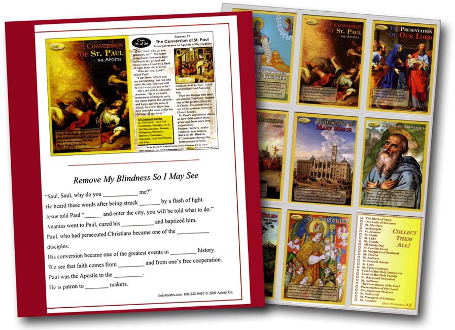 6 Set Activity Kit with Holy Trader Sets 1 - 6