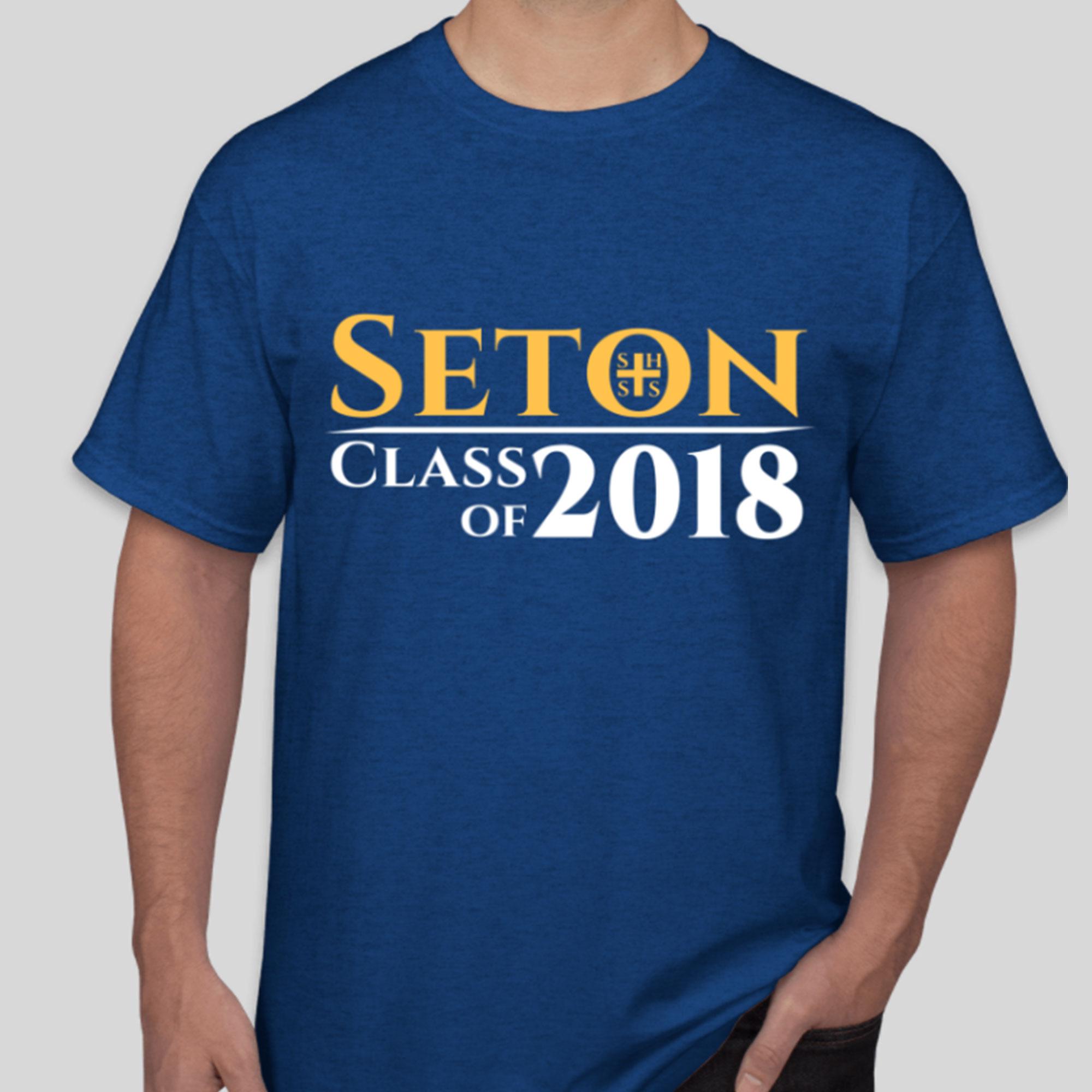 Seton Class of 2018 T-Shirt Adult 2-XL