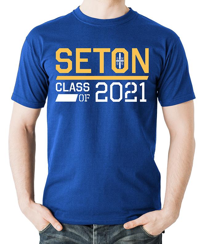 Seton Class of 2021 T-Shirt Adult X-Large