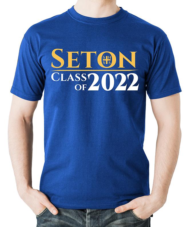 Seton Class of 2022 T-Shirt Adult X-Large