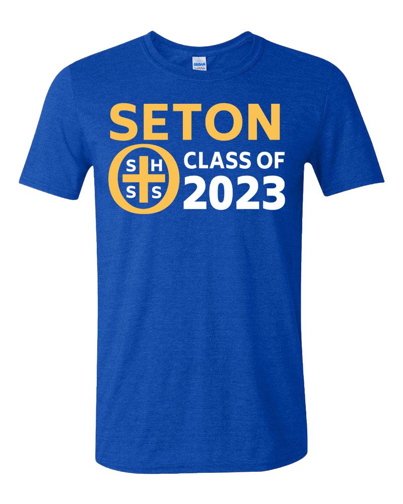 Seton Class of 2023 T-Shirt Adult Small