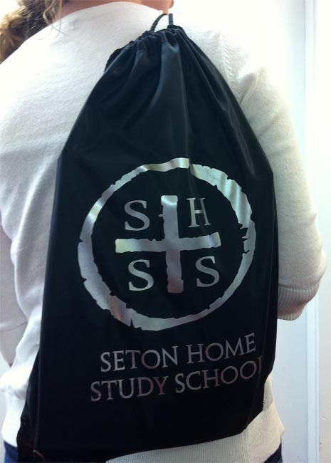 S.H.S.S. Nylon Drawstring Sports Pack