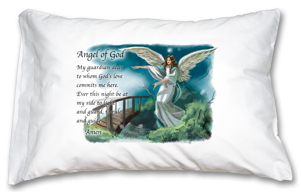 Guardian Angel Pillowcase